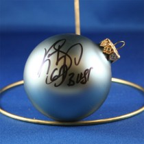FFF Charities - Kevin Sharp - blue Christmas ornament #1