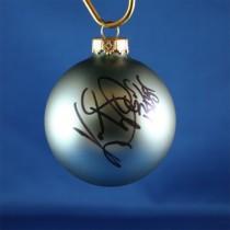 FFF Charities - Kevin Sharp - blue Christmas ornament #3