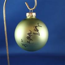FFF Charities - Dr. Ralph Stanley & Ralph II - green Christmas ornament #2