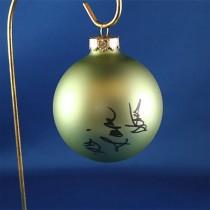 FFF Charities - Dr. Ralph Stanley & Ralph II - green Christmas ornament #4