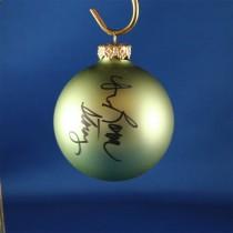 FFF Charities - Dr. Ralph Stanley & Ralph II - green Christmas ornament #6