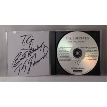 "FFF Charities - TG Sheppard - autographed cd ""Live In Concert"""