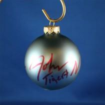 FFF Charities - John Tigert - blue Christmas ornament #2