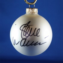FFF Charities - Steve Wariner - white Christmas ornament #2