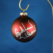 FFF Charities - Gretchen Wilson - red Christmas ornament #5