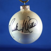 FFF Charities - Mark Wills - white Christmas ornament #4