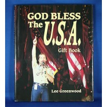 "Lee Greenwood - book ""God Bless The U.S.A. Gift Book"" by Lee Greenwood"