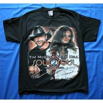 """Faith Hill - t-shirt """"Soul 2 Soul"""" tour"""