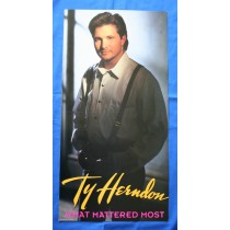 "Ty Herndon -  promo locker flat ""What Mattered Most"""