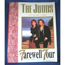 "Judds - 1991 tour book ""Farewell Tour"""