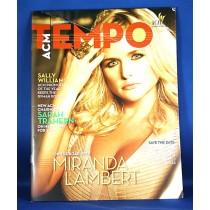 Miranda Lambert - ACM Tempo magazine Winter 2012