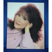 Loretta Lynn - 8x10 color photograph in pink