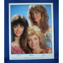 Barbara Mandrell - 8x10 photo w/ Lousie Mandrell & Irlene Mandrell
