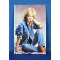 Barbara Mandrell - 3.5x5.5 blue jeans