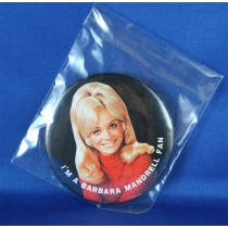 Barbara Mandrell - pin BMIFC red sweater