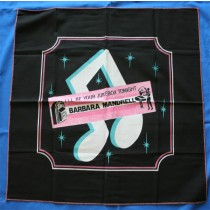 "Barbara Mandrell - tour scarf ""I'll Be Your Jukebox Tonight"""