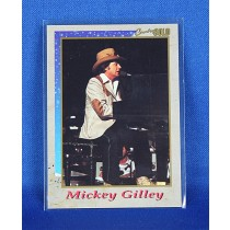 Mickey Gilley - promo Country Gold trading card #5