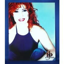 Jo Dee Messina - 8x10 color photograph w/ blue tank top