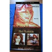 "Jo Dee Messina -  promo vinyl poster Disc Jockey ""Burn"""
