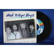 "Oak Ridge Boys - 45 LP ""Make My Life With You"" & ""Break My Mind"""