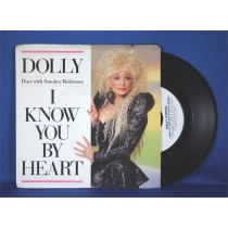 "Dolly Parton - 45 LP with Smokey Robinson ""I Know You By Heart"""