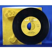 "Eddie Rabbitt - 45 LP ""I Love A Rainy Night"" & ""Gone Too Far"""