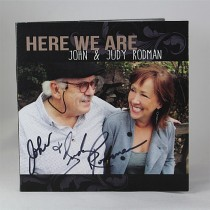 "Judy & John Rodman - autographed CD ""Here We Are"""