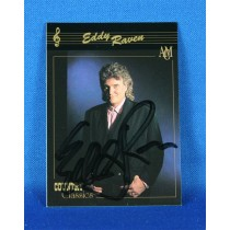 Eddie Raven - autographed Country Classics trading card #1