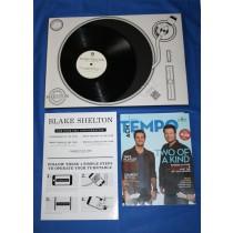 Blake Shelton - 2013 CMA promo vinyl LP record