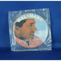 George Strait - promo button