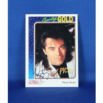 Marty Stuart - autographed 1992 Country Gold trading card #1