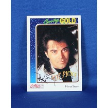 Marty Stuart - autographed 1992 Country Gold trading card #2