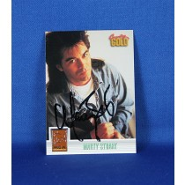 Marty Stuart - autographed 1993 Country Gold - sterling silver trading card #1