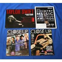 Taylor Swift - CMA promo with lot of 3 CMA Magazines