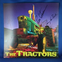 Tractors - autographed promo flat #2