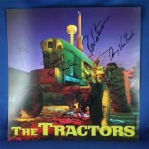 Tractors - autographed promo flat #4