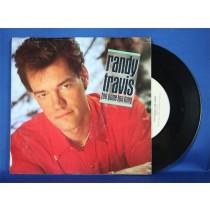 """Randy Travis - 45 LP """"Too Gone Too Long"""""""