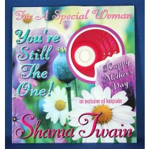 Shania Twain - Mother's Day Card w/ cd (for a special woman)