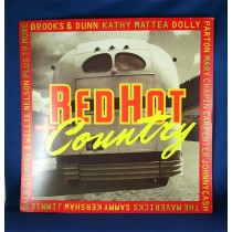 "Various Artists - promo flat ""Red Hot Country"""