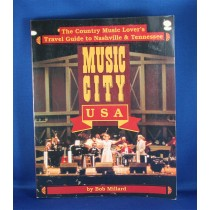 """Various Artists - book """"Music City U.S.A. The Country Music Lover's Travel Guide To Nashville & Tennessee"""" by Bob Millard"""