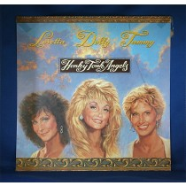 "Various Artists - promo flat ""Honky Tonk Angels"" Loretta Lynn, Dolly Parton & Tammy Wynette"