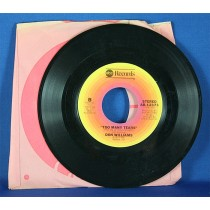 "Don Williams - 45 LP ""Rake And Ramblin' Man"" & ""Too Many Tears"""
