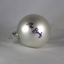 FFF Charities – Moe Bandy - white Christmas ornament #6