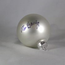FFF Charities – Moe Bandy - white Christmas ornament #8