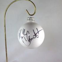 FFF Charities - Mark Chesnutt - 2017 White Christmas Ornament #3