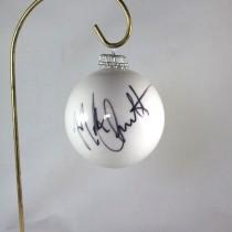 FFF Charities - Mark Chesnutt - 2017 White Christmas Ornament #4