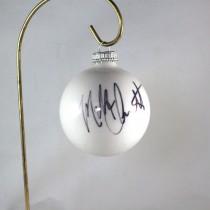 FFF Charities - Mark Chesnutt - 2017 White Christmas Ornament #5