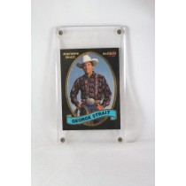 "George Strait – trading card ""Executive Sports Monthly"" '92"