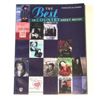 "Various Artists – songbook ""The Best In Country Sheet Music"" 1996"