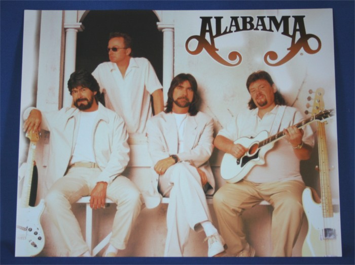 Alabama - 8x10 color photograph in white